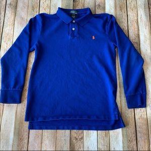 Youth Polo Ralph Lauren long sleeved polo shirt